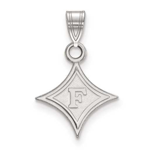 SS002FUU: SS LogoArt Furman University Small Pendant