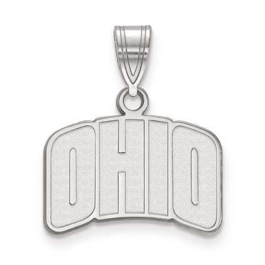 SS026OU: SS LogoArt Ohio University Small Pendant