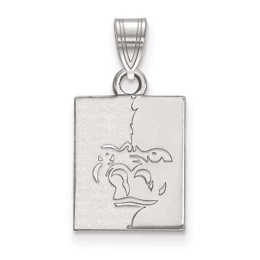 SS002PSK: SS LogoArt Pittsburg State University Small Pendant