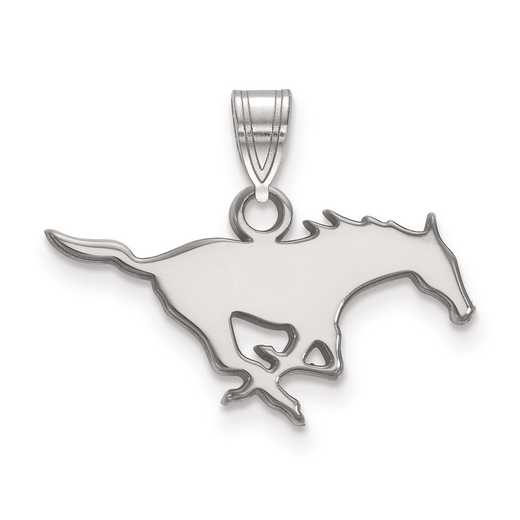 SS002SMU: SS LogoArt Southern Methodist University Small Pendant