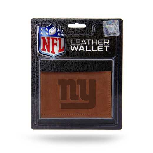 MTR1405: NEW YORK GIANTS LTHR/MANMADE TRIFOLD