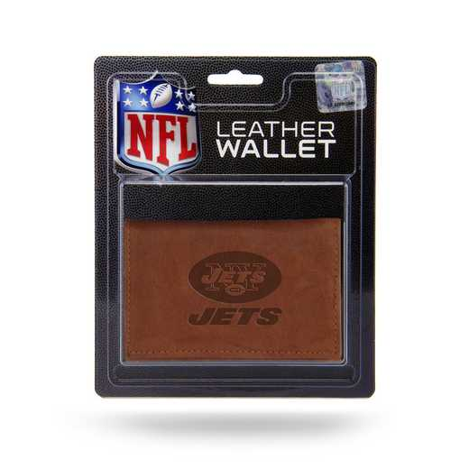 MTR2205: NEW YORK JETS LTHR/MANMADE TRIFOLD