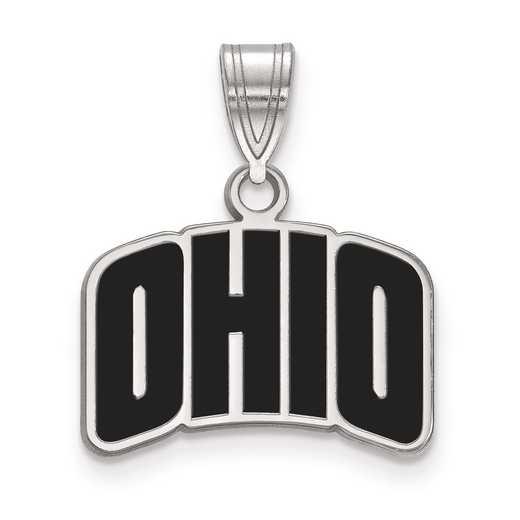 SS027OU: S S LogoArt Ohio University Small Enamel Pend