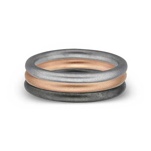 SS Stackable Expressions Plain Bands Ring ST