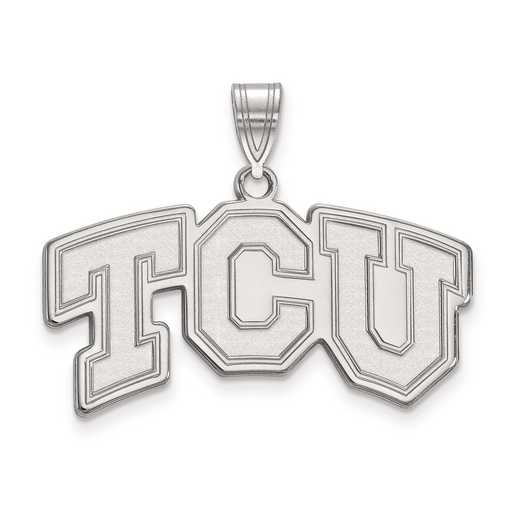 SS003TCU: SS LogoArt Texas Christian University Medium PEND