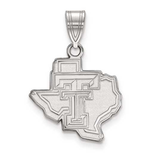 SS045TXT: SS LogoArt Texas Tech University Medium PEND