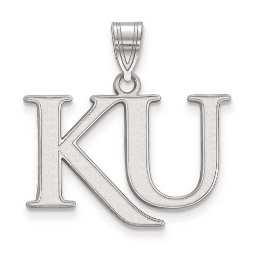 SS052UKS: SS LogoArt University of Kansas Medium PEND