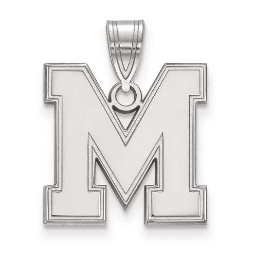 SS025UMP: SS LogoArt University of Memphis Medium PEND