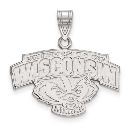 SS076UWI: SS LogoArt University of Wisconsin Medium PEND