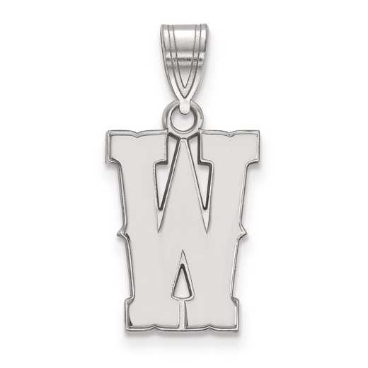 SS015UWY: SS LogoArt The University of Wyoming Medium PEND
