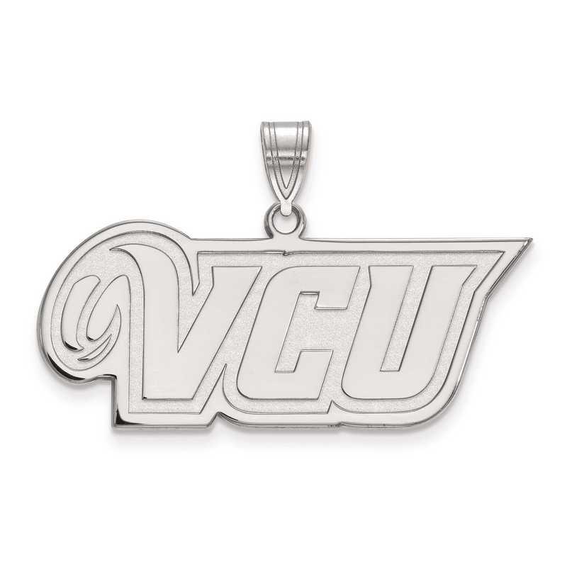 SS008VCU: SS LogoArt Virginia Commonwealth University Medium PEND