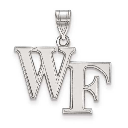 SS003WFU: SS LogoArt Wake Forest University Medium PEND