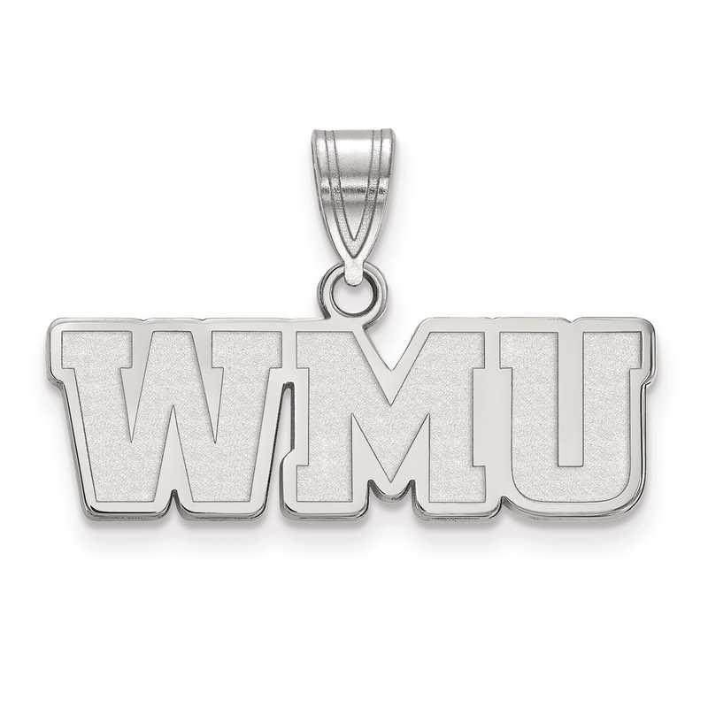 SS018WMU: SS LogoArt Western Michigan University Medium PEND