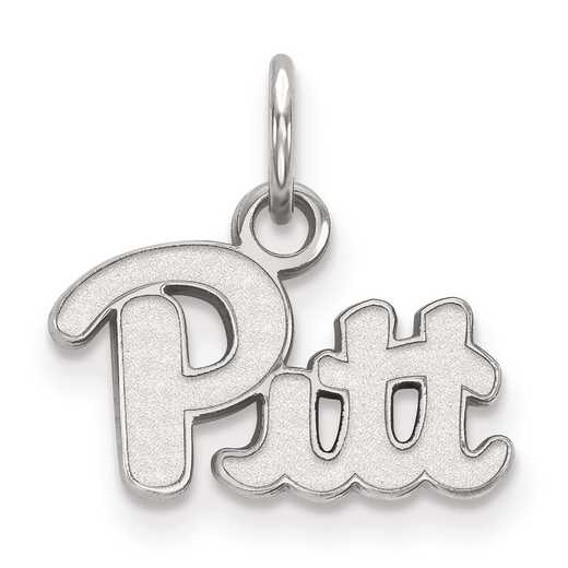 SS001UPI: SS LogoArt University of Pittsburgh XS Pendant