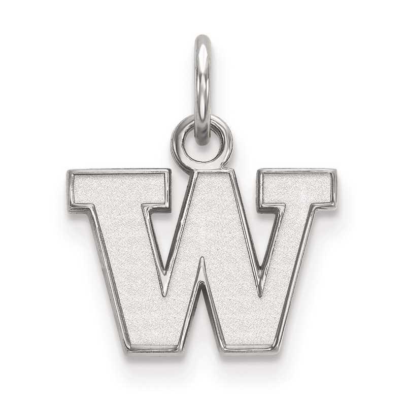 SS001UWA: SS LogoArt University of Washington XS Pendant