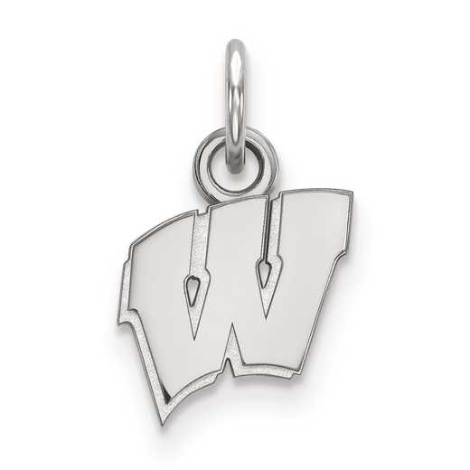 SS001UWI: SS LogoArt University of Wisconsin XS Pendant