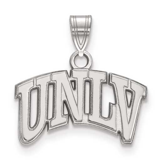 SS001UNL: SS LogoArt University of Nevada Las Vegas Small PEND