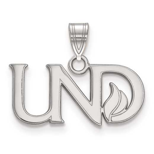 SS026UNOD: SS LogoArt University of North Dakota Small PEND