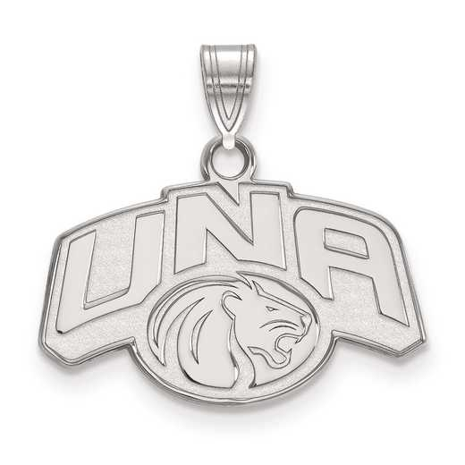 SS001UNA: SS LogoArt University of Northern Alabama Medium PEND