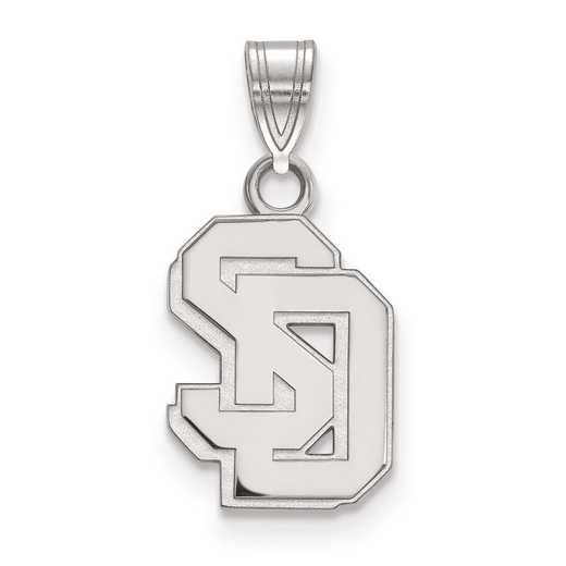 SS005USD: SS LogoArt University of South Dakota Small PEND