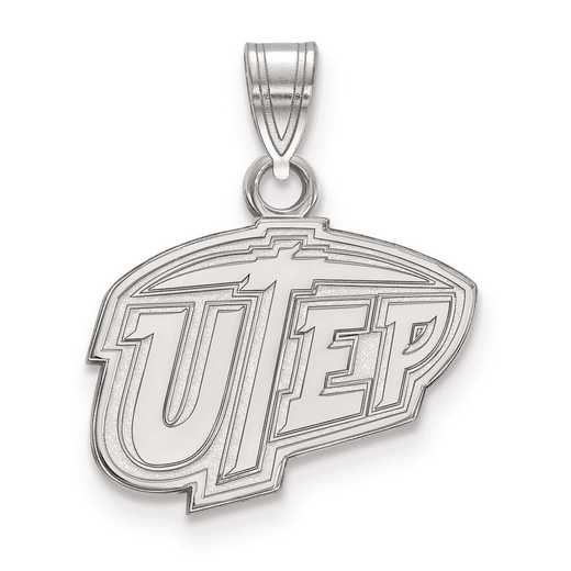 SS001UTE: SS LogoArt The University of Texas at El Paso Small PEND