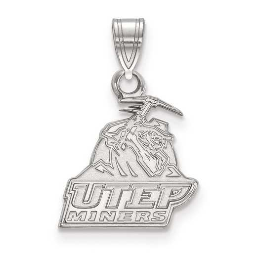 SS005UTE: SS LogoArt The University of Texas at El Paso Small PEND