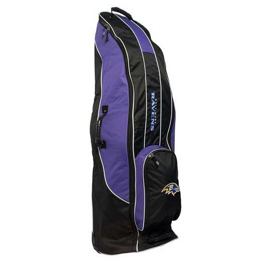 30281: Golf Travel Bag Baltimore Ravens