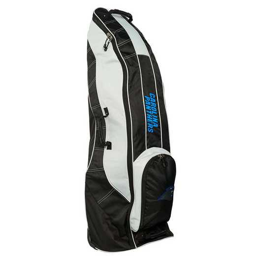 30481: Golf Travel Bag Carolina Panthers