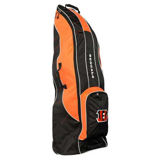 30681: Golf Travel Bag Cincinnati Bengals