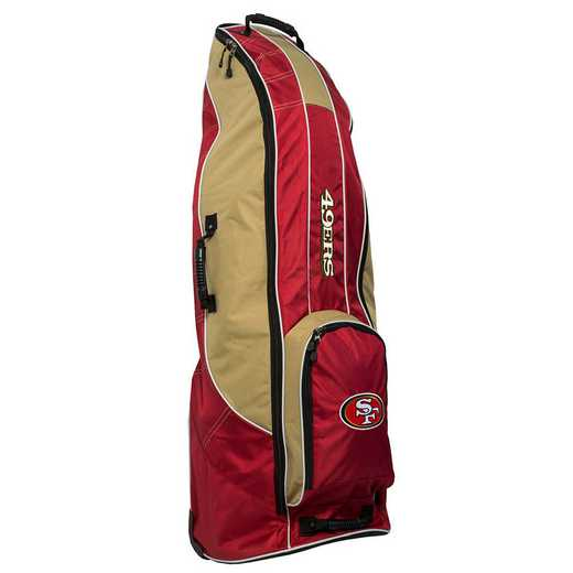 32781: Golf Travel Bag San Francisco 49ers