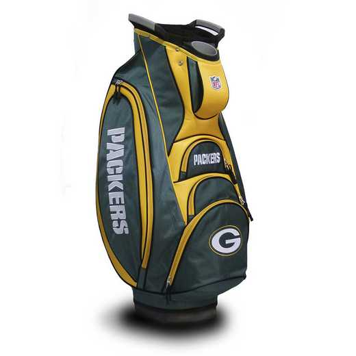 31073: Victory Golf Cart Bag Green Bay Packers
