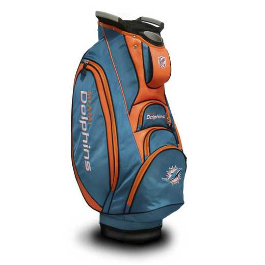 31573: Victory Golf Cart Bag Miami Dolphins