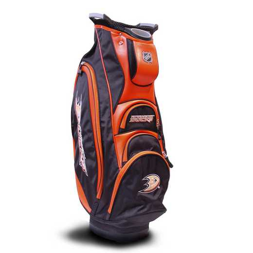 13073: Victory Golf Cart Bag Anaheim Ducks