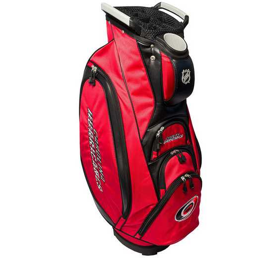 13473: Victory Golf Cart Bag Carolina Hurricanes