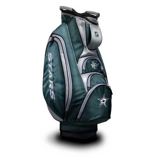 13873: Victory Golf Cart Bag Dallas Stars