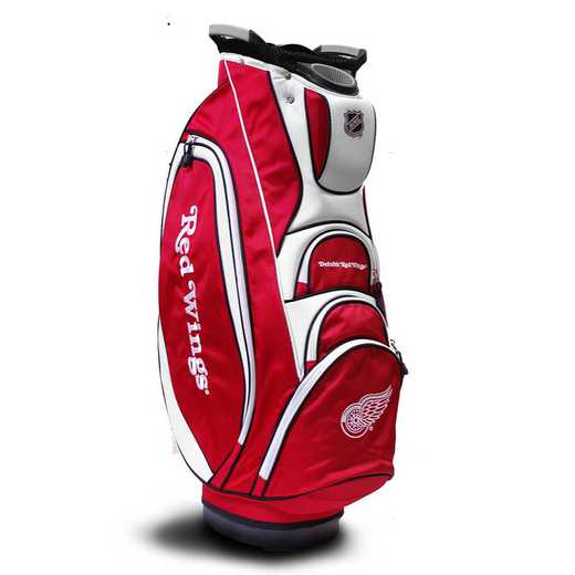 13973: Victory Golf Cart Bag Detroit Red Wings