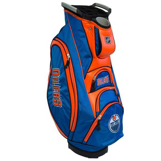 14073: Victory Golf Cart Bag Edmonton Oilers