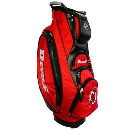 14673: Victory Golf Cart Bag New Jersey Devils