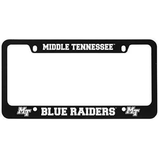 SM-31-BLK-MTSU-1-CLC: LXG SM/31 CAR FRAME BLACK, Middle Tennessee St