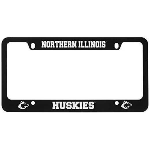 SM-31-BLK-NRTHIL-1-LRG: LXG SM/31 CAR FRAME BLACK, Northern Illinois