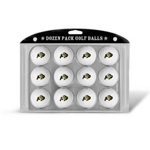 25703: Golf Balls, 12 Pack Colorado Buffaloes