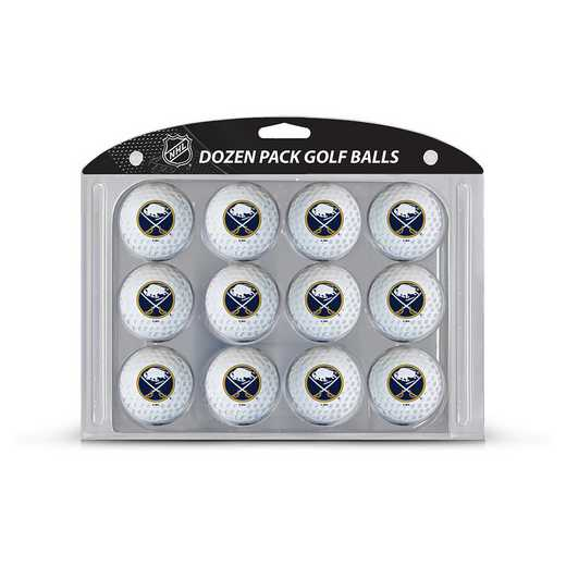 13203: Golf Balls, 12 Pack Buffalo Sabres