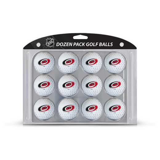 13403: Golf Balls, 12 Pack Carolina Hurricanes