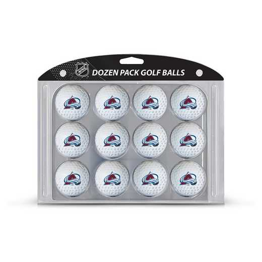 13603: Golf Balls, 12 Pack Colorado Avalanche