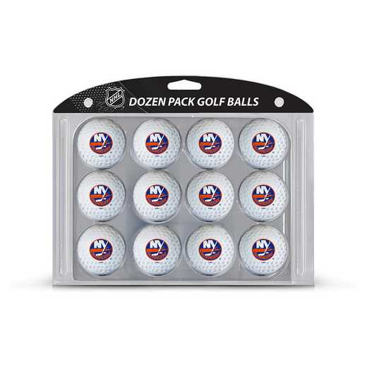 14703: Golf Balls, 12 Pack New York Islanders