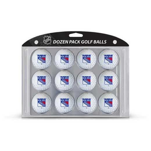 14803: Golf Balls, 12 Pack New York Rangers