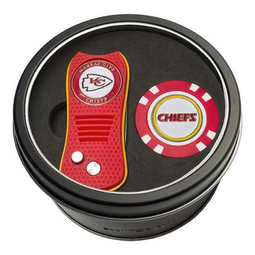 31453: Tin Gft StSwitchfix DVT Glf Chip Kansas City Chiefs