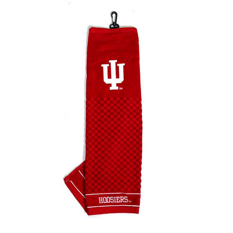 21410: Embroidered Golf Towel Indiana Hoosiers
