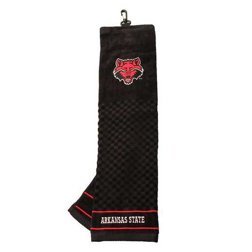 92710: Embroidered Golf Towel Arkansas St