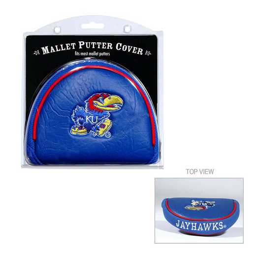 21731: Golf Mallet Putter Cover Kansas Jayhawks